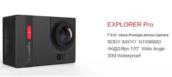 Производитель называет Elephone Explorer Pro первой камерой с поддержкой голосовых уведомлений