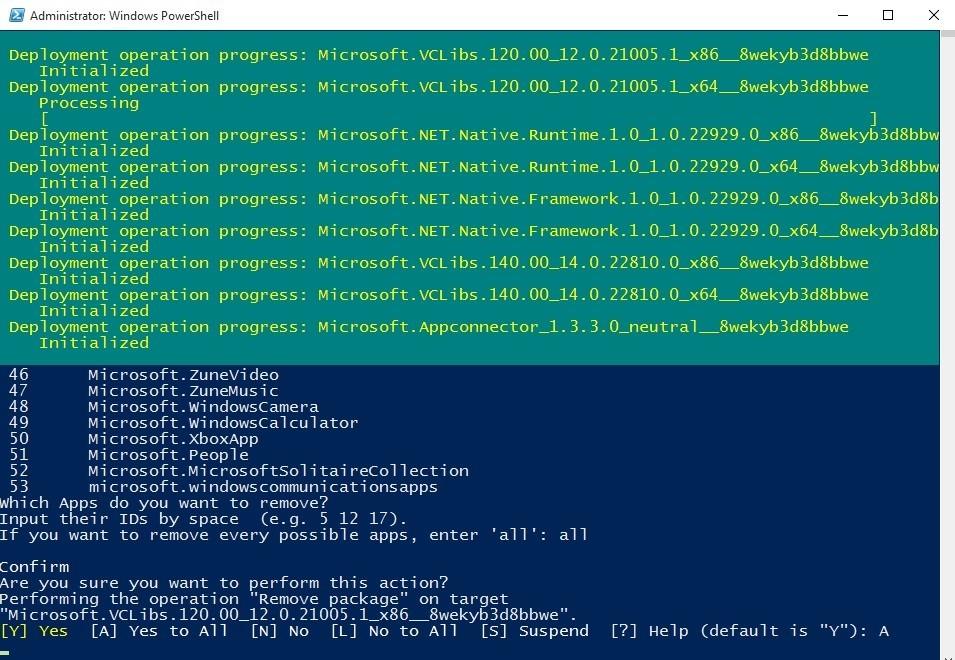 Удаление-восстановление Metro-приложений в Windows 10 - 7