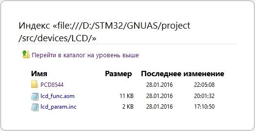 STM32F4: GNU AS: Подключение дисплея на PCD8544 (Часть 7) - 4