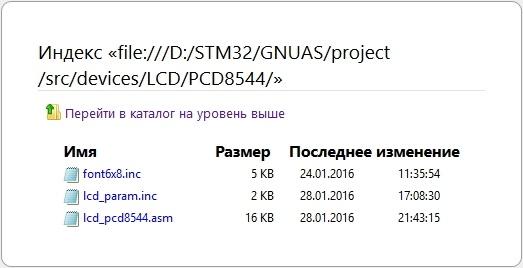 STM32F4: GNU AS: Подключение дисплея на PCD8544 (Часть 7) - 5