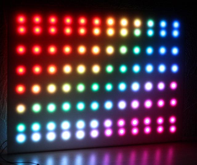 Как я сделал LED-панель для мониторинга серверов, а заодно и цветомузыку для вечеринок - 2