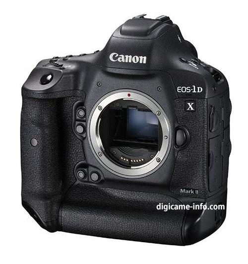 Появились изображения и спецификации камеры Canon EOS-1D X Mark II, анонс которой ожидается на следующей неделе