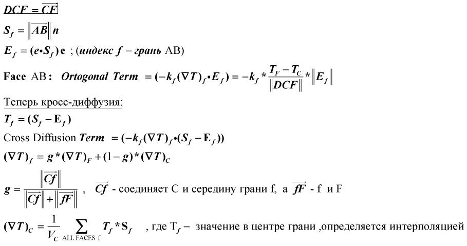 Метод Finite Volume — реализация на примере теплопроводности - 16