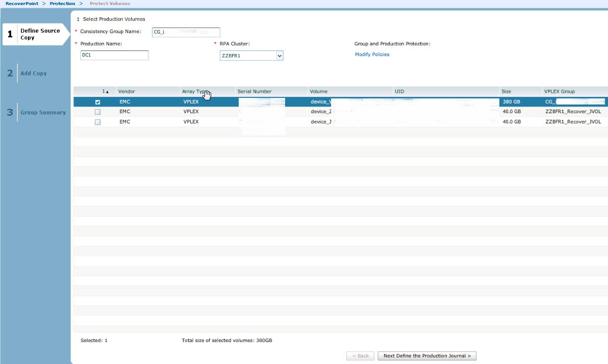 Миграция данных с различных типов Storage с использованием технологий EMC VPLEX и EMC RecoverPoint - 19