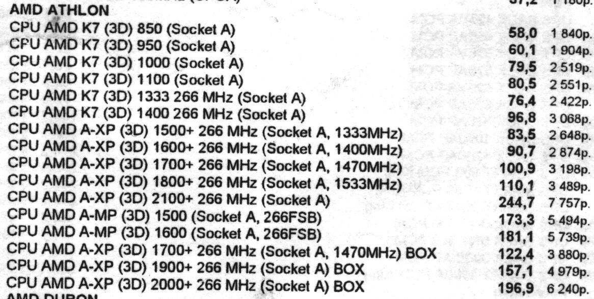 Минутка ностальгии: цены на компьютеры и комплектующие от 2002 года - 15