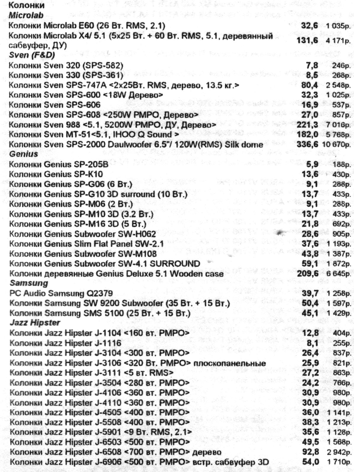 Минутка ностальгии: цены на компьютеры и комплектующие от 2002 года - 31