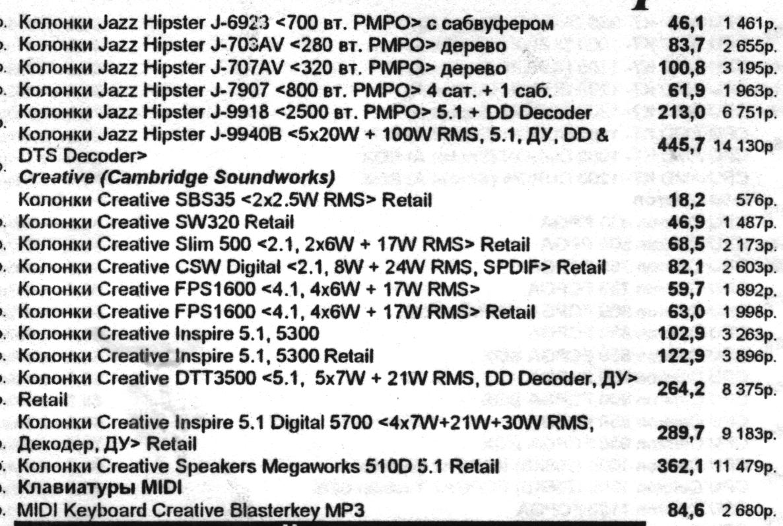 Минутка ностальгии: цены на компьютеры и комплектующие от 2002 года - 32