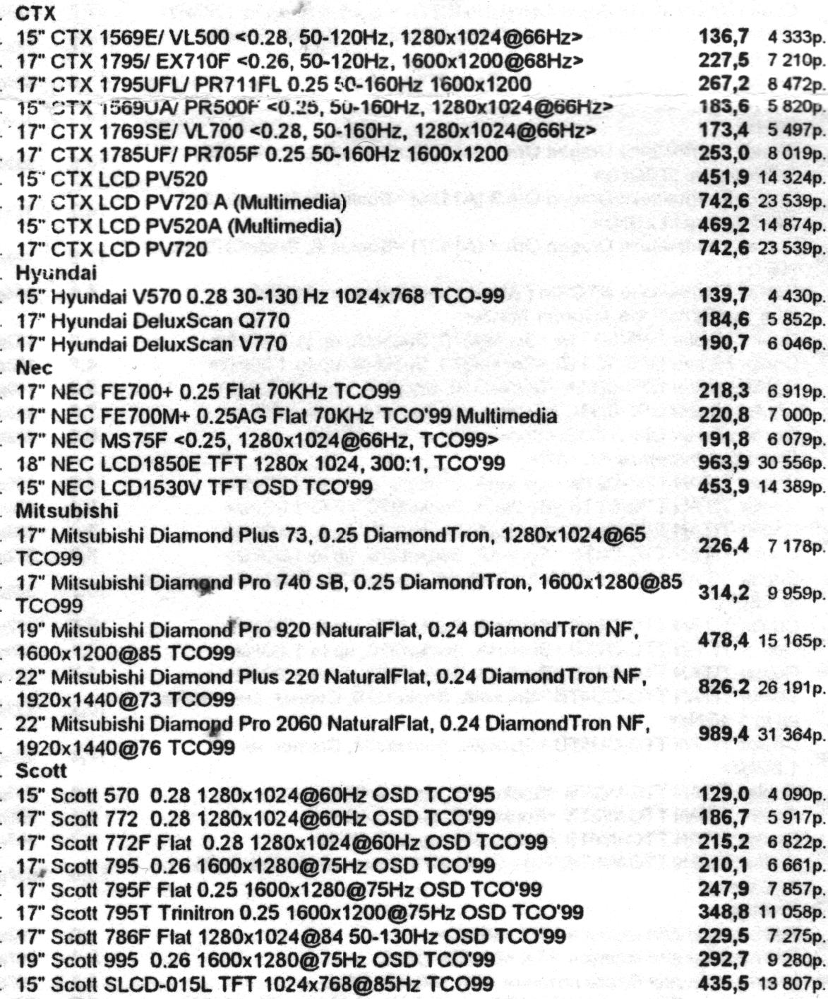 Минутка ностальгии: цены на компьютеры и комплектующие от 2002 года - 35