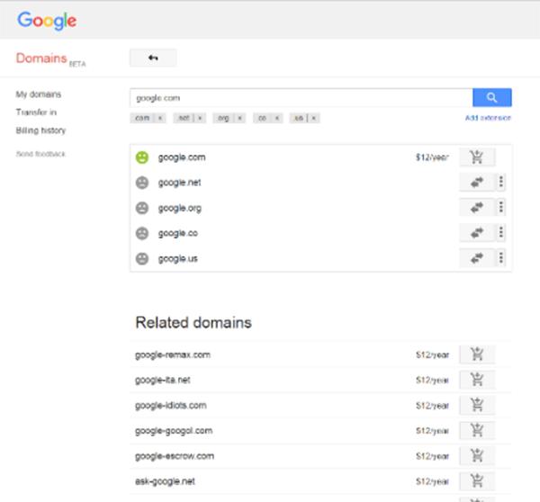 Сколько Google заплатила за потерянный домен google.com - 2