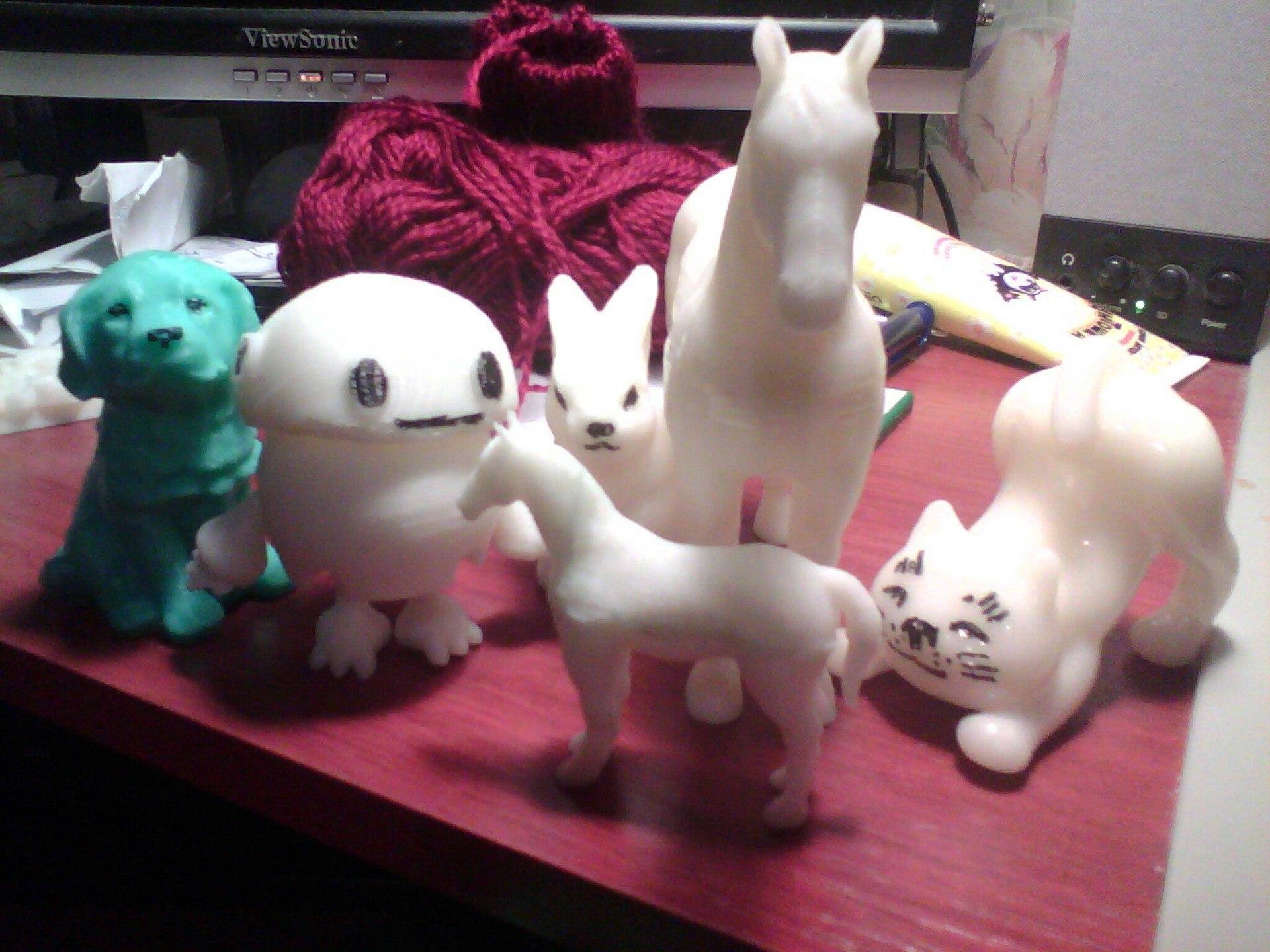 3D-печатные игрушки для детей (в основном) - 1