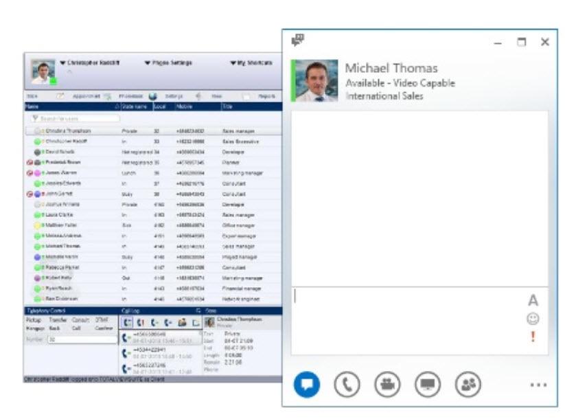 TotalView расширяет возможность контроля статусов для IP АТС 3CX Phone System - 6