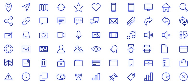 Essential Icons