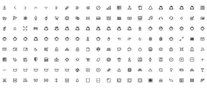 PrestaShop Icons