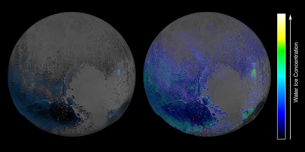 На Плутоне есть водяной лед. Много льда - 1