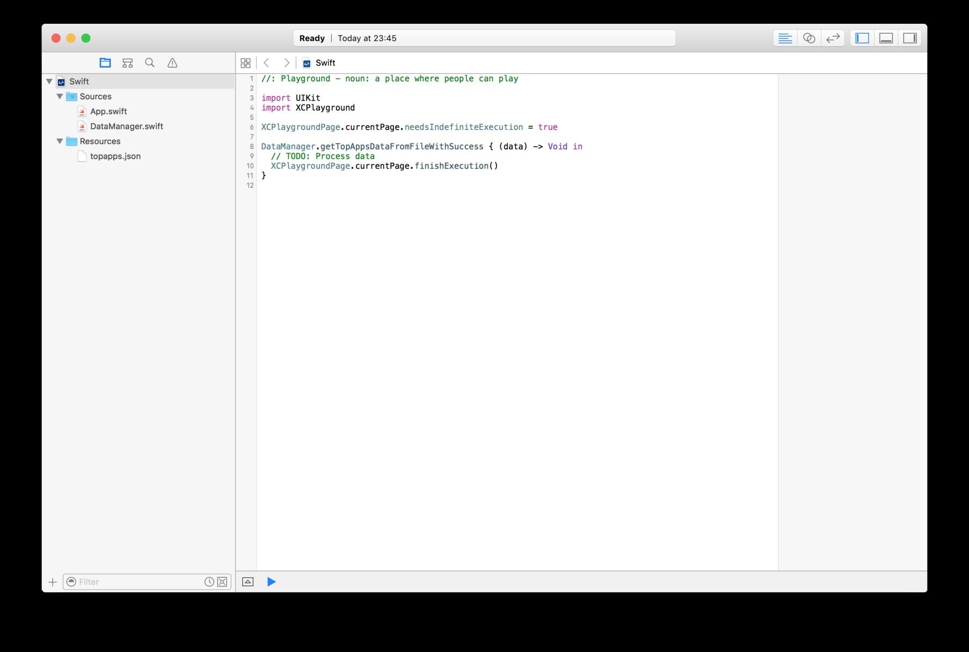 Работы с JSON в Swift - 1