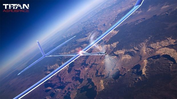 Названа причина аварии стратосферного дрона Google Solara 50
