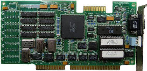 Процесс эволюции видеоадаптеров из 80-х в 2000-е - 6