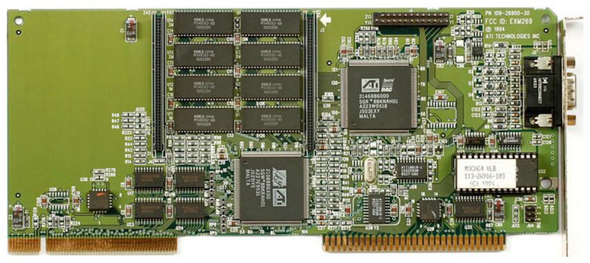 Процесс эволюции видеоадаптеров из 80-х в 2000-е - 9