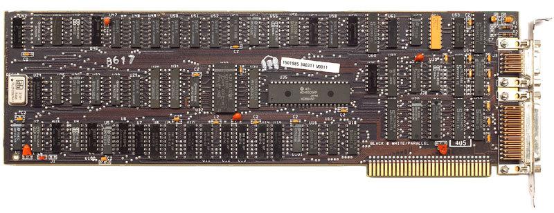 Процесс эволюции видеоадаптеров из 80-х в 2000-е - 1