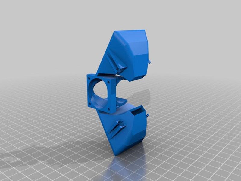 Продолжение статьи о доработках принтера MC2, ч.2. Калибровка, доработка системы охлаждения - 4