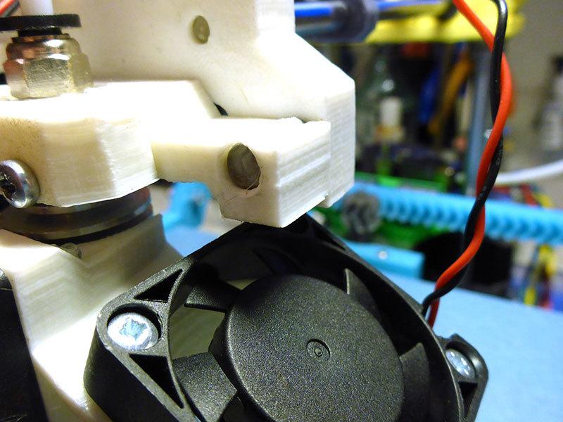 Продолжение статьи о доработках принтера MC2, ч.2. Калибровка, доработка системы охлаждения - 7