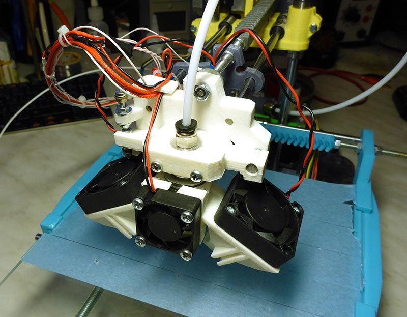 Продолжение статьи о доработках принтера MC2, ч.2. Калибровка, доработка системы охлаждения - 1