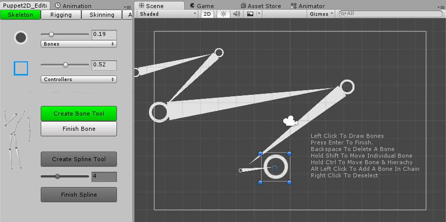 Скелетная 2D-анимация в Unity с помощью плагина Puppet2D - 8