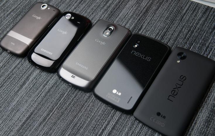 Google намерена взять под контроль почти все этапы создания смартфонов программы Nexus