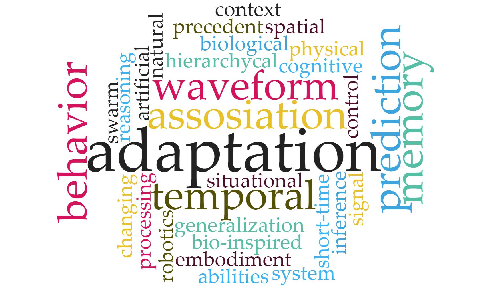 WTM (Waveform temporal memory) – модель нейронной сети для решения задачи адаптивного поведения - 1