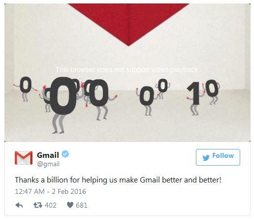 Каждый десятый ответ на сообщения, поступающие в почтовые ящики Gmail, формируется автоматически