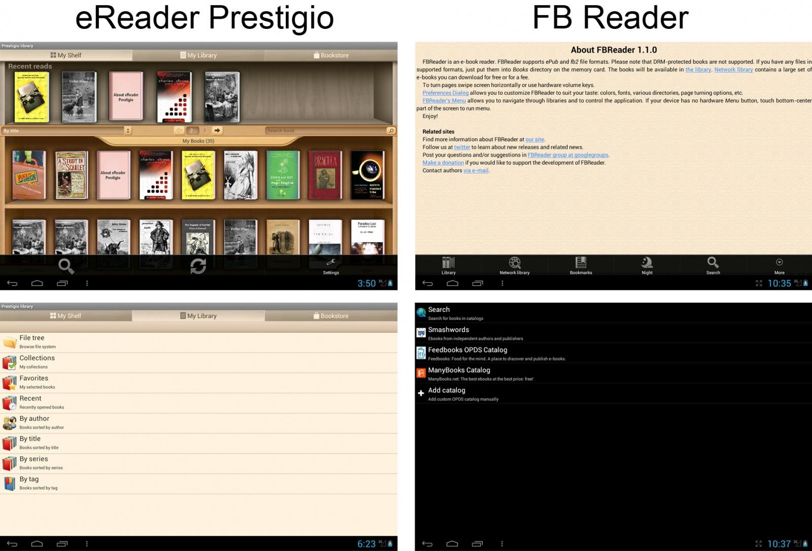 eReader Prestigio: единство и борьба противоположностей одной читалки - 6