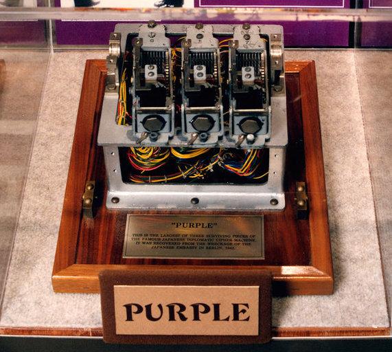 Шифрование машины Purple - 1