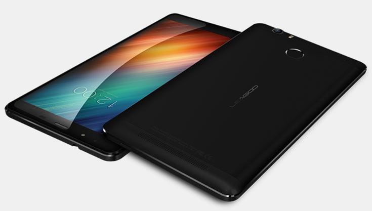Размеры смартфона Leagoo Shark 1 равны 158,6 х 82,8 х 8,5 мм, масса — 240,9 г