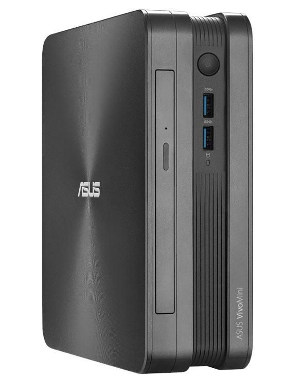 Компьютеры Asus VivoMini VC65 можно располагать горизонтально или вертикально