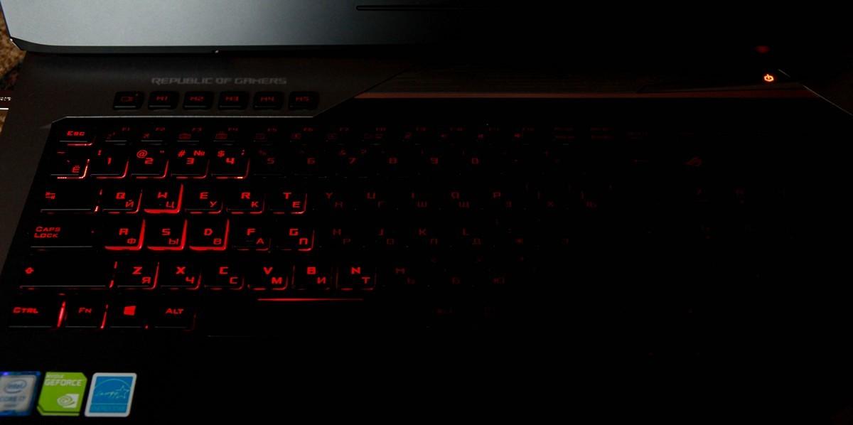 Обзор игрового ноутбука G752VY - 38