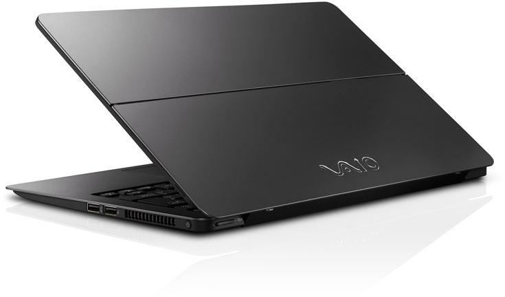 Ноутбуки VAIO Z и VAIO S предназначены для делового применения