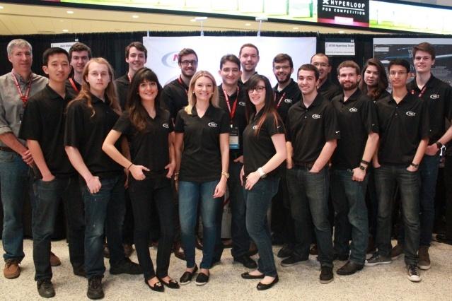 Команда  Массачусетского технологического института выиграла первый этап конкурса Hyperloop Pod Competition