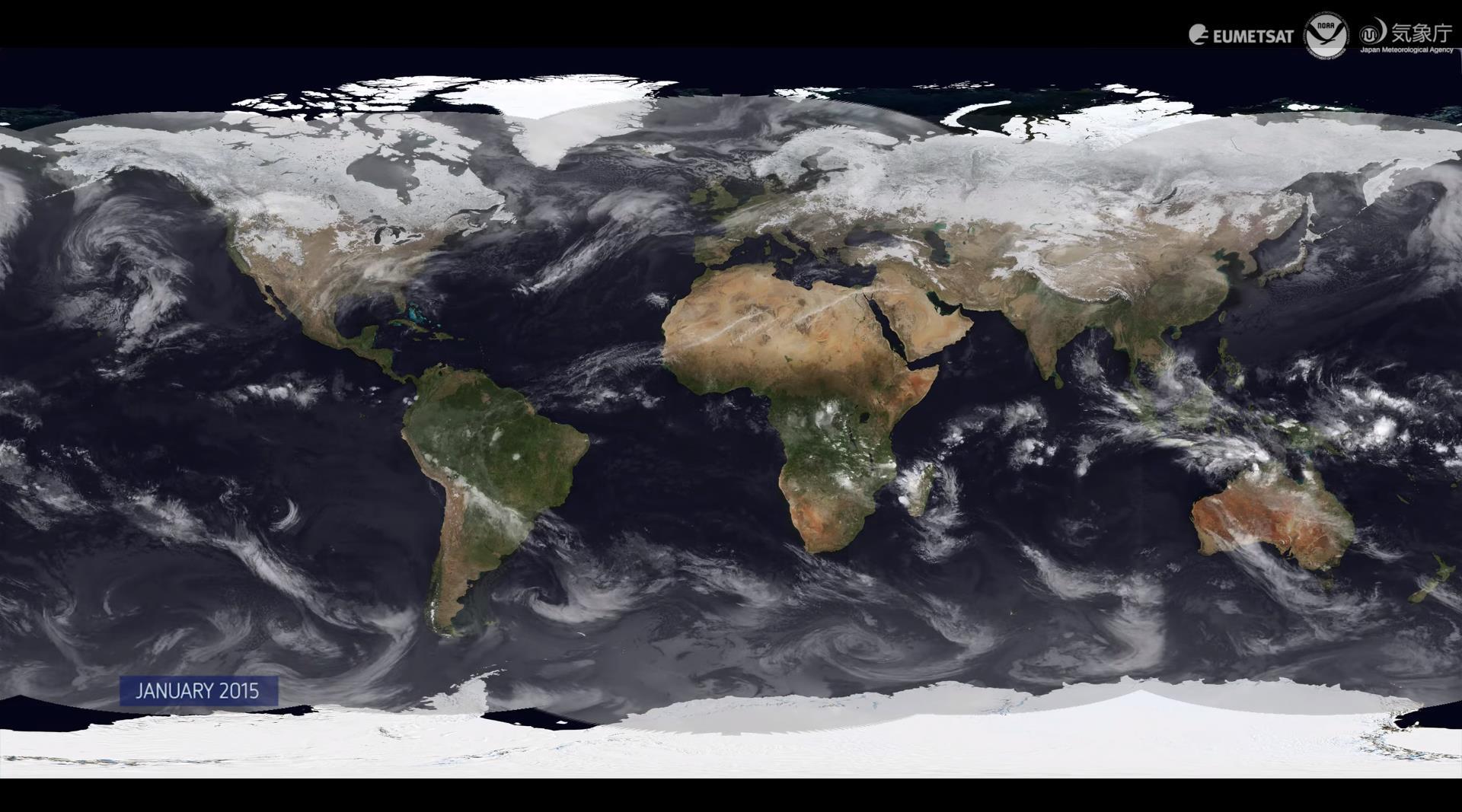Все погодные аномалии 2015 года за 8 минут - 1