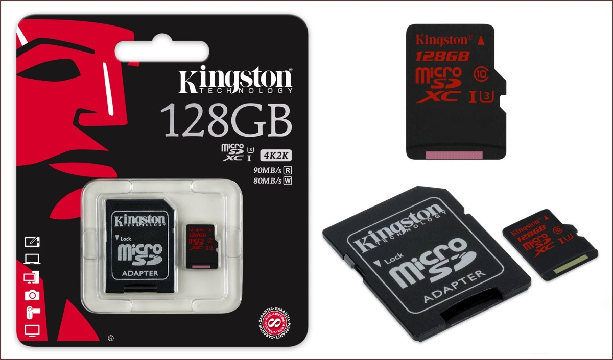 [Анонс] Kingston увеличивает максимальную емкость для USB накопителя DataTraveler Micro 3.1 и карты памяти SDXC - 2