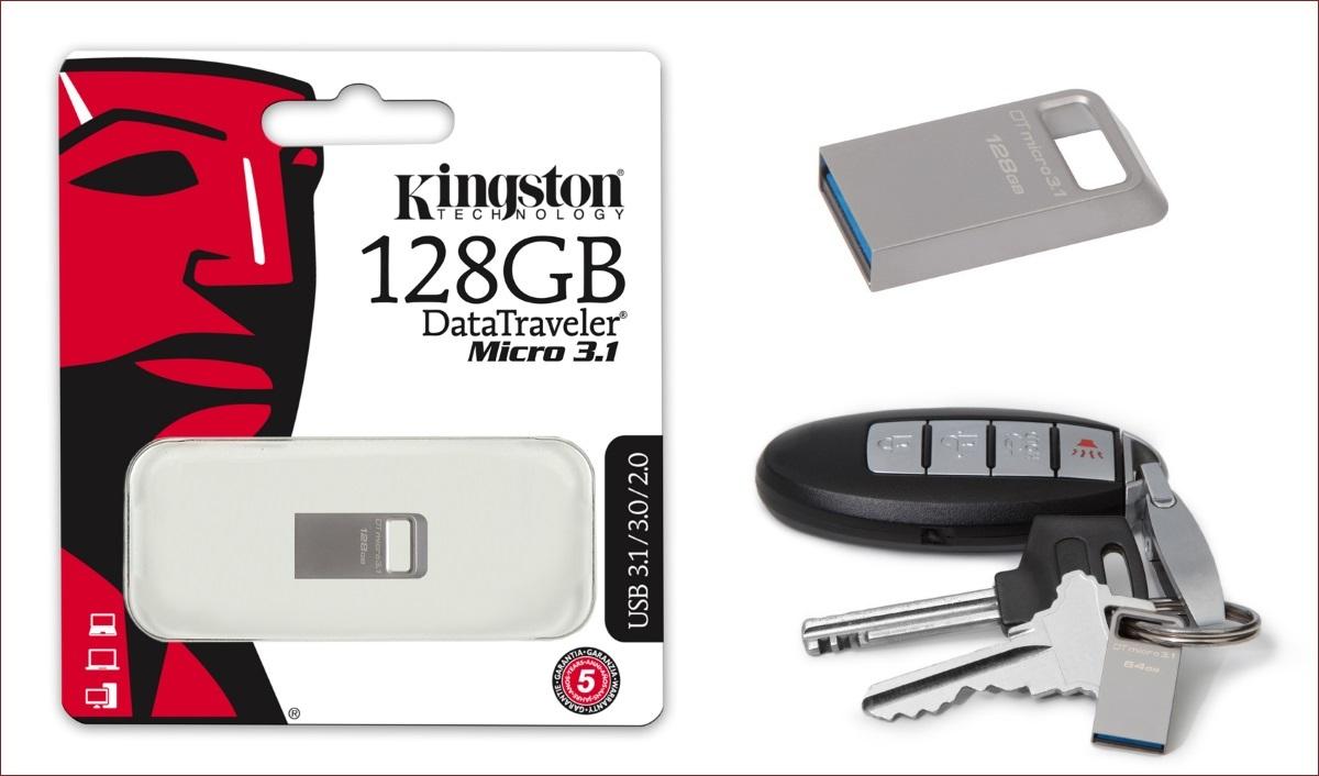 [Анонс] Kingston увеличивает максимальную емкость для USB накопителя DataTraveler Micro 3.1 и карты памяти SDXC - 1