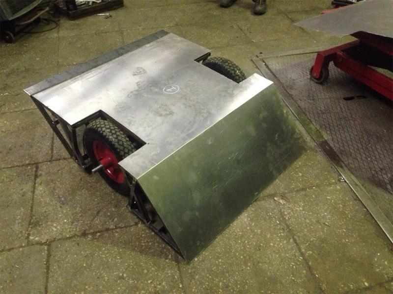 Большой брат — собираем боевого робота в гараже - 5