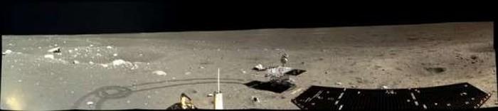 Китай опубликовал фото с лунной поверхности - 3