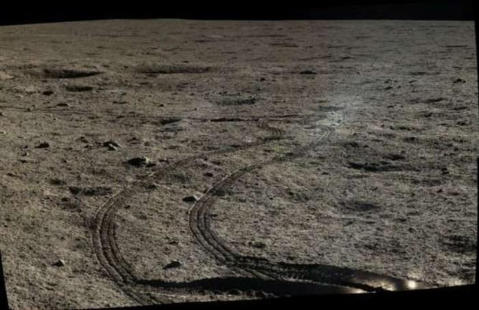 Китай опубликовал фото с лунной поверхности - 4