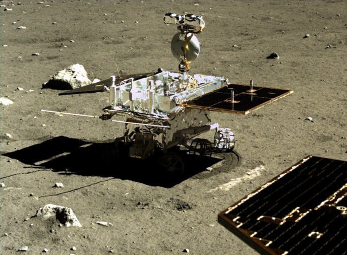 Китай опубликовал фото с лунной поверхности - 5