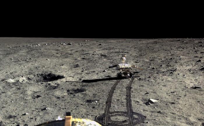 Китай опубликовал фото с лунной поверхности - 6
