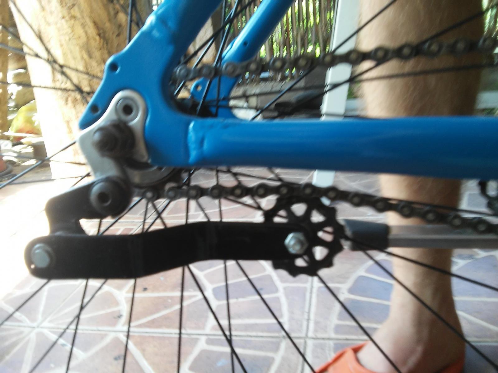Новая жизнь бюджетного горного велосипеда, превращение в электричку - 22