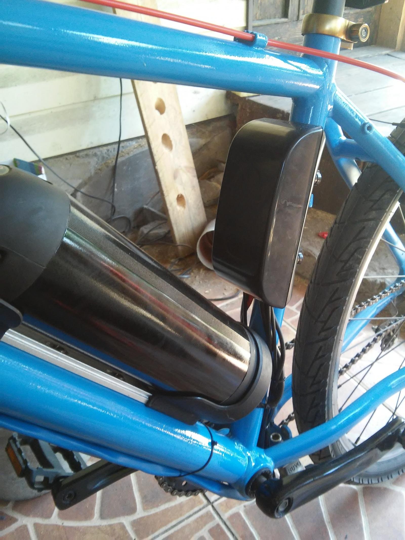 Новая жизнь бюджетного горного велосипеда, превращение в электричку - 23