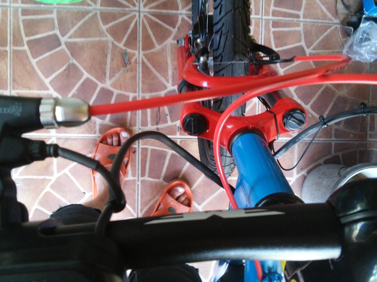 Новая жизнь бюджетного горного велосипеда, превращение в электричку - 24
