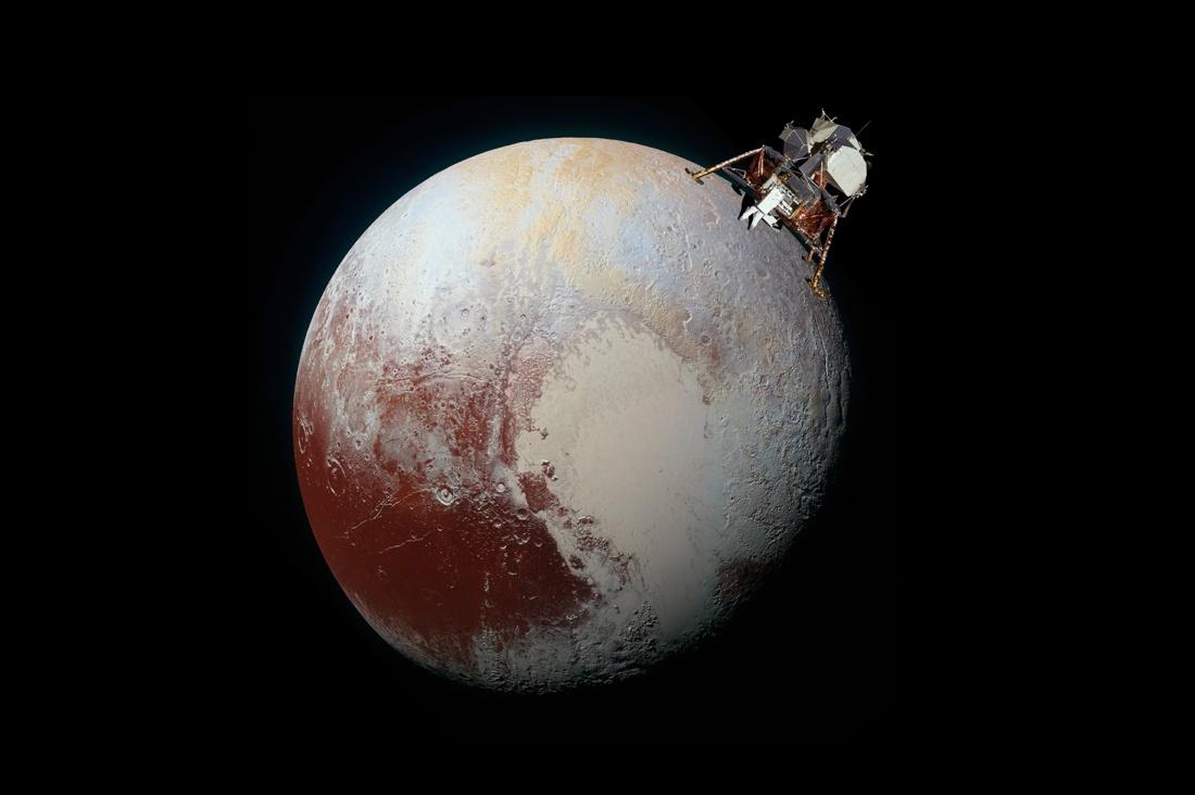 Почему «Хаббл» видит Плутон, но не видит «Аполлон»? - 1