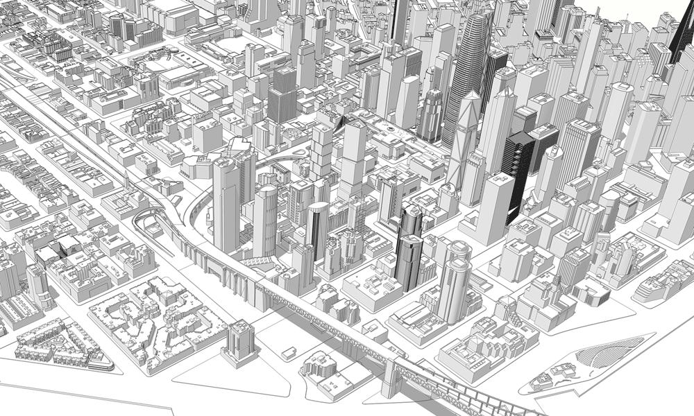 Самая масштабная трёхмерная модель города, распечатанная на 3D-принтере - 4